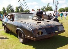 Last of the V8 Interceptors, Mad Max, Goodwood Festival of Speed 2015 (Hammerhead27) Tags: black film car movie rust dust fos madmax v8 goodwood prop interceptor furyroad festivalofspeed2015
