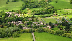 Wytham Village on a Carboot Day (superdove) Tags: oxford aerialphotography pap carboot paramotor wytham paramania actiongt top80