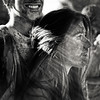 A coeur perdu (Christine Lebrasseur) Tags: street light portrait people blackandwhite woman france colour art 6x6 robin backlight canon couple paint profile bordeaux spot teenager fr alisson gironde 500x500 allrightsreservedchristinelebrasseur dreamcolorstimebordeaux