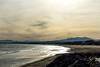 Reflet d'argents (Thierry Poupon) Tags: canigou mer portlanouvelle reflet soleil ciel contrejour nuages soir languedoc france fr sea sky mountain cloud dusk backlight