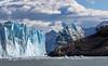 Perito Moreno - After Ice Bridge Collapsed (cheryl strahl) Tags: southamerica argentina patagonia losglaciaresnationalpark lagoargentino peritomorenoglacier glacier clouds blueice glaciallake glacialice