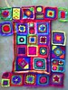 The crochet afghan that has eluded me in medias res (crochetbug13) Tags: crochetbug crocheted crocheting grannysquare crochetsquare multicolor grannysquaresampler crochetafghan crochetblanket crochet squares