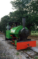 'Woto' (SteveInLeighton's Photos) Tags: bedfordshire beds england transparency june narrowgauge railroad railway kodakelite leightonbuzzard 1996 steam locomotive bagnall woto