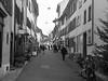 Découverte de l'Est (Antoine Desloges Studio) Tags: noel bâle suisse frontière rhin fleuve marche promenade commerces architecture bw