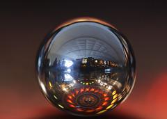 Reflections of the Silverball (eyelyft) Tags: pinball macro arcades photography arcade pins papins reflections sphere silverball blackknight