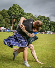 Backhold Wrestling (FotoFling Scotland) Tags: balloch event frazerhirsch highlandgames lochlomondhighlandgames scotland scottcarson scottishwrestlingbond kilt kilted male wrestler wrestlingbond fotoflingscotland
