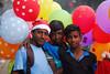 Three is company (Rajib Singha) Tags: travel street people color outdoor trade friends interestingness flickriver nikond200 kolkata westbengal india
