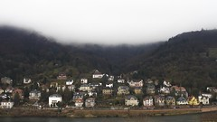 Heidelberg (kadircelep) Tags: heidelberg city cityscape town country nature foggy forest mountain germany houses