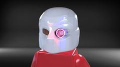CyclopsBricks Deadshot Helmet (CyclopsBricks) Tags: lego custom printed injection mold 3d deadshot sniper guns suicide squad cw dcu dceu cyclopsbricks myles dupont