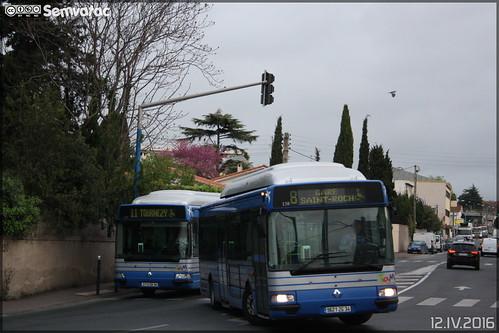 Renault Agora S GNV - Tam Montpellier 3M (Transports Alternatifs de Montpellier Méditerranée Métropole) n°138