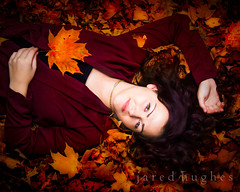Nina 03 (jaredhughesphoto) Tags: autumn fall leaves woman beautifulwoman autumncolors fallcolors cold brunette leaf red orange brown gold pretty serene serenity peaceful portrait seasonalportrait seasonal younglady lady girl fallfoliage canon canon5ds digitalautumn auburncolor auburn colorportrait femaleportrait female green trees eyes creamy skin sweater redsweater bloodred resting lyingdown relax relaxed relaxing chilling chillingout jaredhughes mistenarenteria children family child daughter mother sister