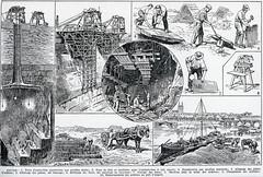 Extraction, travail et transport de l'Ardoise (HCLM) Tags: ardoise anjou trélazé mine gravure carrière