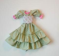 In the works..... (Sweet Creations Doll Fashions) Tags: annabella abjd bjd balljointeddoll balljointeddolls costume corset sweetcreations sd sdbjd msd msdbjd fashion kayewiggs kayewiggsmsd dollfashions dolls dollfashionsbysweetcreations dress ruffles ruffledskirt top dots polkadots green pink stripes ribbon lacing eyelet layla miki nelly