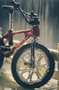 -Raindrops keep falling on my head-(in explore 9.02.2017) (amjs63) Tags: macromondays inspiredbyasong bicicleta lluvia closeup vehiculo brilliant