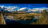 Substance is part of the tale (Melissa Maples) Tags: antalya turkey türkiye asia 土耳其 apple iphone iphone6 cameraphone river water boğaçayıbridge panoramic panorama widescreen letterbox blue winter bridge reflection mountains clouds