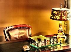 La scrivania del signor Milà (AlessandroDM) Tags: barcellona spagna spain espana casamilà catalunya catalogna antonigaudi gaudi