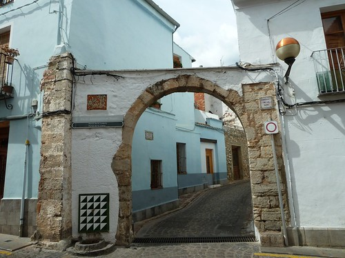 Entrance to Jewish Quarter at Seguntum_Sagunto  (o