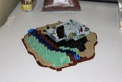 Forest Cottage: Build Log (jsnyder002) Tags: lego moc creation model build log process