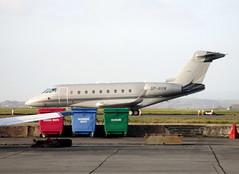 SP-NVM parked. (aitch tee) Tags: cardiffairport aircraft bizjet gulfstream spnvm cwlegff maesawyrcaerdydd walesuk ttail