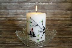 SanValentinoCandela_002w (Morgana209) Tags: sanvalentino love candele candle amore innamorarsi pastelliacera handmade riciclocreativo stvalentin creatività gattini mici cuori heart sperimentare fuoco