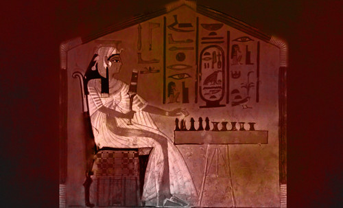 "Senet - Lujoso sistema de objetos lúdicos obsequio del dios Toht a la faraona Nefertari • <a style=""font-size:0.8em;"" href=""http://www.flickr.com/photos/30735181@N00/32399621551/"" target=""_blank"">View on Flickr</a>"
