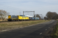 SHD 2205 + CTO meetrijtuig + plan E en het Panorama Rail Restaurant in Barneveld (sanfranjake) Tags: shd stichtinghistorischdieselmaterieel shd2205 plane cto prr railpromo