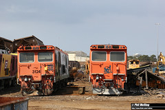 12 October 2016 3124 unknown 31, possibly 3128 Simsmetal Gladstone (RailWA) Tags: railwa philmelling 3124 unknown 31 simsmetal gladstone queensland 2016 october