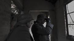 Heiligenbeil 45, East Prussia 5, as Hauptmann (Christopher Wilson) Tags: ww2 germaninfantry heiligenbeil 21stinfaterie wehrmacht livinghistorygroup publicww2events professionalphotography germansoldier officer hauptmann film tvextras walkon easternfront uniforms weapons equipment vehicles stahlhelm chriswilson christopherwilson bodydouble skilldouble standin supportingartist assistantdirector runner ad picturedouble voiceover utilitystandin double model uniform suit periodsuit periodclothing hire uniformhire documentaries documentary reconstruction reconstructions productionrunner locationassistant tv movie filmunit adr raywinstonestandin germanofficerrank heer infantry binoculars m40 m42 greatcoat overcoat gasmaskcase breadbag pioneer easternfrontfeldgrau propconstruction afra bunker filmcrew eastprussia myuniform k98