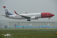 Norwegian - LN-DYO - B737-800 (Aviation & Maritime) Tags: lndyo norwegianairshuttle norwegian norshuttle nax boeing boeing737 b737 b737800 boeing737800 ams eham amsterdam amsterdamairport amsterdamairportschiphol schiphol thenetherlands