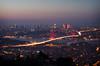 Çamlıca (mazharserdar) Tags: istanbul turkey travel türkiye evening sea city bosphorus boğaziçi bridge night seascape nightscape bluehour sunset çamlıca