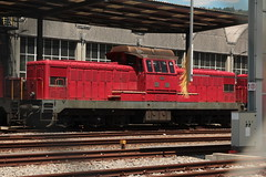 SBB Diesellokomotive Bm 6/6 18503 ( Hersteller SLM Nr. 4094 - Baujahr 1954 ) im SBB Cargo Industriewerk Biel in Biel - Bienne im Berner Seeland im Kanton Bern der Schweiz (chrchr_75) Tags: christoph hurni schweiz suisse switzerland svizzera suissa swiss chrchr chrchr75 chrigu chriguhurni juni 2015 hurni150603 albumzzzz150603velotourbielsolothurn albumzzz201506juni juni2015 chriguhurnibluemailch albumbahnenderschweiz albumbahnenderschweiz201516 schweizer bahnen eisenbahn bahn train treno zug albumsbbdiesellokomotivebm44 diesellokomotive lokomotive sbb cff ffs bm 44