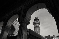 Masjid wazir khan from new angle. . . (Fakharry) Tags: pakistan blackandwhite monochrome silhouette blackwhite arch frame bnw wazirkhan fkp framewithinframe frameinframe masjidwazirkhan lahorecity wazirkhanmasjid punjabpakistan walledcitylahore mylahore masjidlahore wazirkhanmasjidlahore fakharry fakharrykhalidpervez facebookcomfkayp