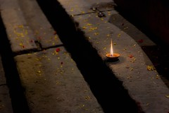 Varanasi-201307794 (t3mujin) Tags: india man varanasi urban ghat asia uttarpradesh gangaaarti city event night male people