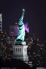 Statue of Liberty & NYC Skyline - 4 [EXPLORED] (RGL_Photography) Tags: nyc newyorkcity nightphotography skyline architecture us newjersey unitedstates manhattanskyline statueofliberty bayonne ladyliberty newyorkcityskyline explored nikond610 tamronsp150600mmf563divcusd