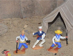 Timpo DaBro German Expeditionary Force Deutsche Marine-Expedition (Modelltoys) Tags: force german deutsche timpo expeditionary dabro marineexpedition