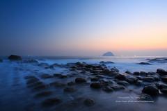 () Tags: ocean longexposure water rock sunrise canon island coast wave  coastline  keelung        colortemperature  ef1635mmf28l  1dx  hopingisland