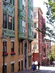 Myrtle Street, Beacon Hill, Boston (David Coviello) Tags: boston architecture buildings massachusetts beaconhill