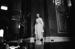 taste the floor (ijarosek) Tags: film church st statue 35mm basilica stephen ilford praktica bazilika tl5b istvn szent prakticatl5b