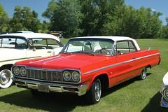 1964 Chevrolet Impala SS (DVS1mn) Tags: auto cars chevrolet car automobile gm bowtie wcc chevy annual 9th automobiles carshow generalmotors cruisein willmarcarclub theclassiccruisein
