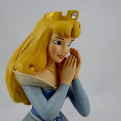 DL60 Aurora Figurine by Jim Shore - Disneyland Purchase - Deboxed - Portrait Left Front View (drj1828) Tags: blue us anniversary disneyland diamond celebration aurora merchandise resin figurine purchase dlr 60th diamondanniversary 2015 jimshore chinacloset enesco deboxed