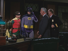 BATMAN (Shed On The Moon) Tags: robin television tv 1966 superhero batman adamwest neilhamilton commissionergordon burtward