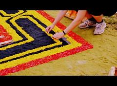 As madly colorful as it is exuberant (Las alfombras de La Orotava, Tenerife, 2015) por Seigar (3) (Seigar) Tags: different canarias isla islas laorotava islacanaria seigar alfombras2015 tenerifesecreto secretotenerife hiddentenerife escondidotenerife
