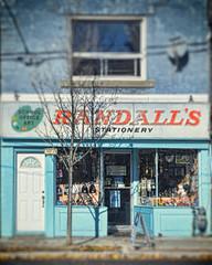 Randall's Stationary ~ Kingston Road, Toronto (Sally E J Hunter) Tags: toronto kingstonroad sign randallsstationary beaches storefront store
