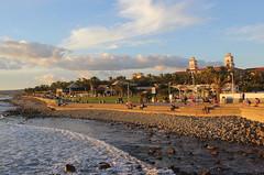 Sunset time (Graham`s pics) Tags: prom promenade holiday vacation travel tourist tourism grancanaria canaryislands spain sea seaside seashore coast coastline shore shoreline meloneras