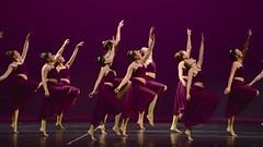 Beauty in motion (R.A. Killmer) Tags: dance danceworkshopbyshari dancer performer performance graceful girls teens show stage costume plum purple