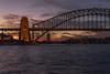 Sunset (mcgin's dad) Tags: australia bridge harbour sunset nsw sydney