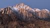 The Lonely Mountain (David Colombo Photography) Tags: mountain sunrise peak snow rock sky alpine glow alpen lonepinepeak lonepine california alabamahills landscape nikon d800 davidcolombo davidcolombophotography outdoor sierranevada sierranevadas sierras