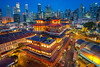 Buddha Tooth Relic Temple and Museum (BP Chua) Tags: singapore bluehour chinatown temple buddha museum buddhatooth buildings urban city cityscape landscape