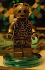 Lego Dimensions Doctor Who Cyberman (Doc Nero) Tags: lego dimensions dc movie sonic hedgehog midway ninjago doctor who arcade spy hunter joker batman tardis dalek