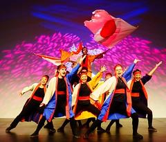 Soran Bushi (Sakuramai Toronto) Tags: jccc spring festival japan japanese tolife dance music danceto yosakoi ilovejapan 春祭り 春 祭り 日本 日本人 トロント カナダ 踊り 音楽 よさこい people dancer girl smile indoor indoors costume color red blue orange flag live show group pose